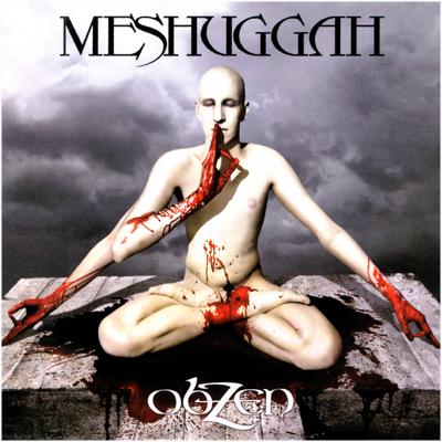 Meshuggah Obzen Cd Usa Promo