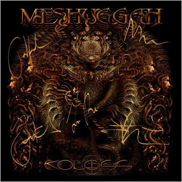 Pattonmad Vinyl2020CD Images Vinyl 12 MeshuggahKolossLPGermanyGoldF